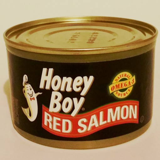 Oh Boy! That's great canned salmon